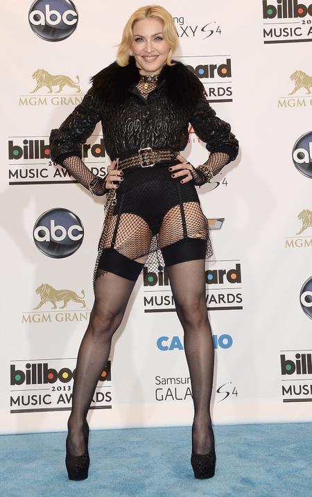 Madonna's bondage leotard