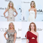 RED CARPET: Celebrity dresses at the amfAR Gala