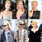 CANNES: Nicole Kidman wardrobe watch