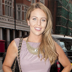 Lydia Bright is pretty in purple dress at Fashion & Textile Awards