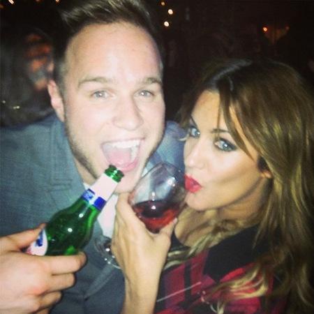 Caroline Flack and Olly Murs say Xtra Factor farewell