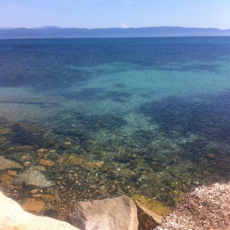 Corsica sea view