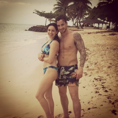 Kelly Brook Tobago holiday