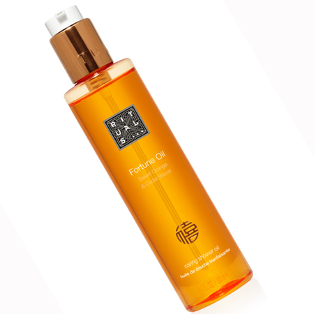 A foaming shower oil to uplift the senses?