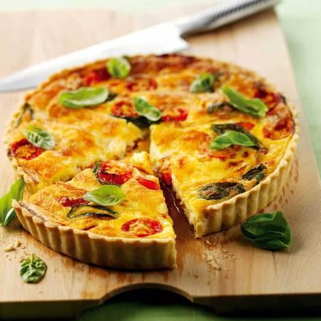 ... heart tomato tart with ricotta tomato and basil tart basil tomato tart