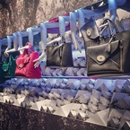 Mulberry's Willow bag lands Selfridges window