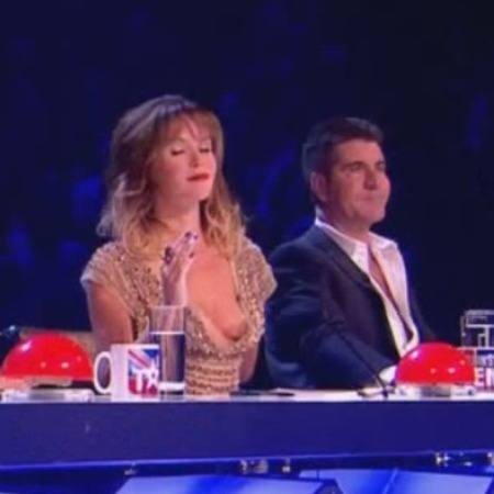 suffers wardrobe malfunction on 'Britain's Got Talent'