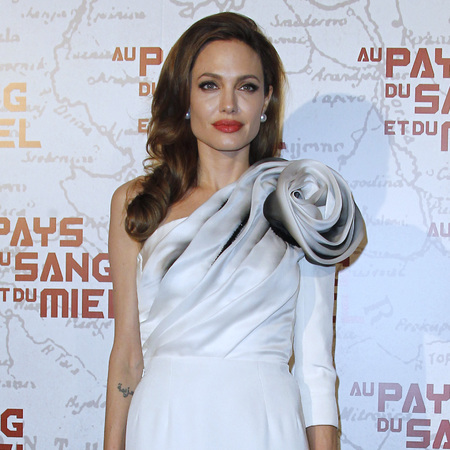 Angelina Jolie best red carpet fashion