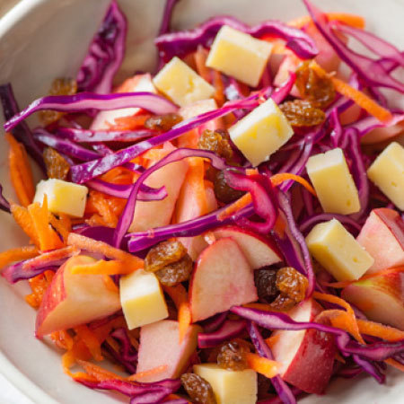 Crunchy pitta salad