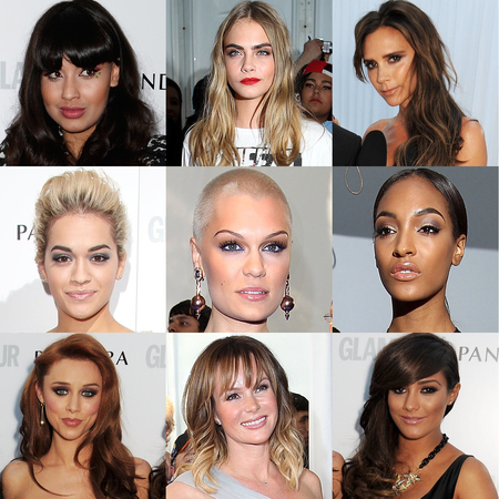 Glamour Women of the Year Awards 2013: Hair and makeup
