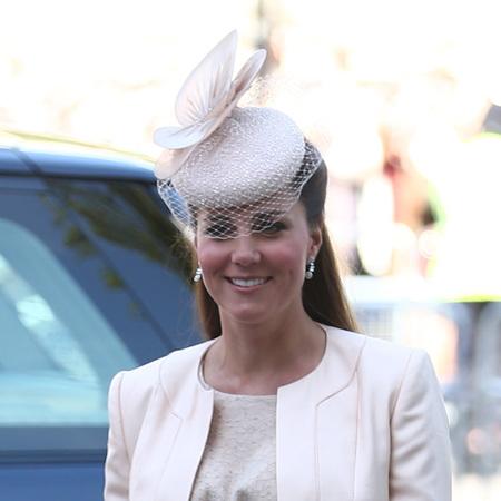Kate Middleton birdcage hat