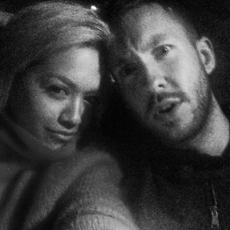 Rita Ora and Calvin Harris selfie snap