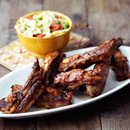 Stick Lamb ribs recipe