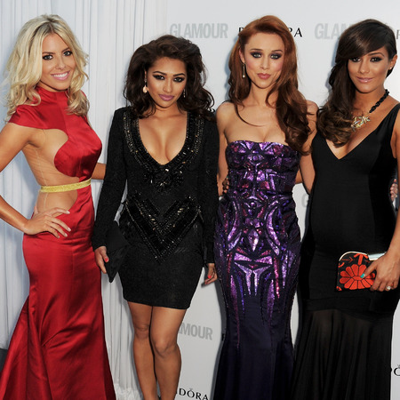 The Saturdays at Glamour Women of the Year Awards 2013