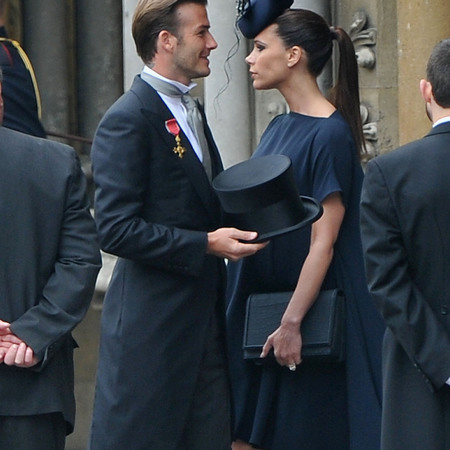 Victoria Beckham's Royal Wedding clutch bag