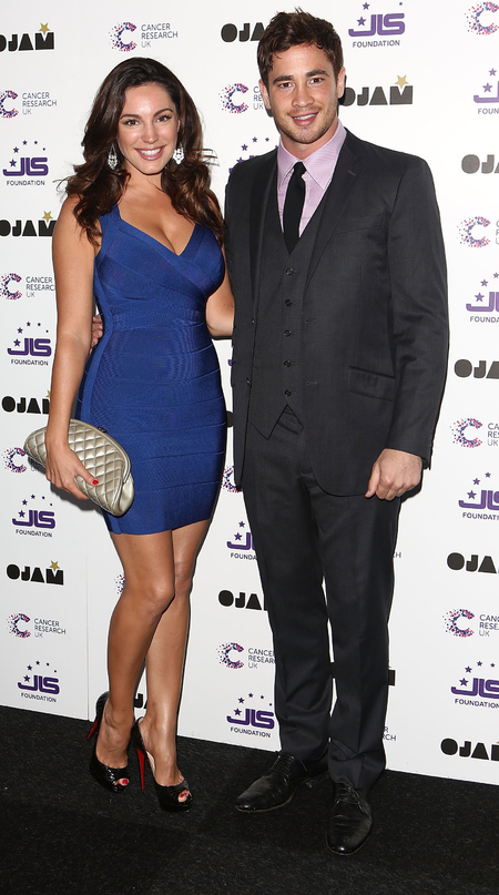 Kelly Brook and Danny Cipriani at JLS and Camcer Research UK fundraiser
