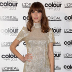 Alexa Chung does retro sparkle for L'Oreal Awards