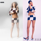 Fashion Fight: Cheryl Cole v Rihanna in Louis Vuitton checks