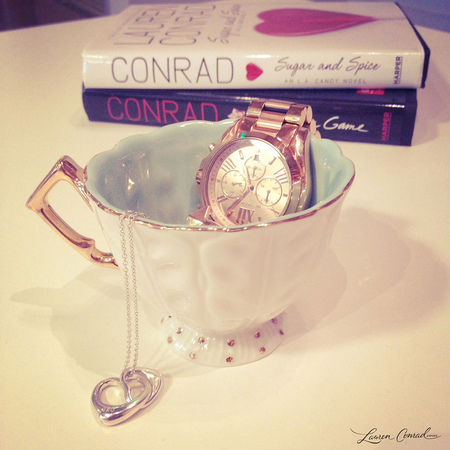 Lauren Conrad collects tea cups