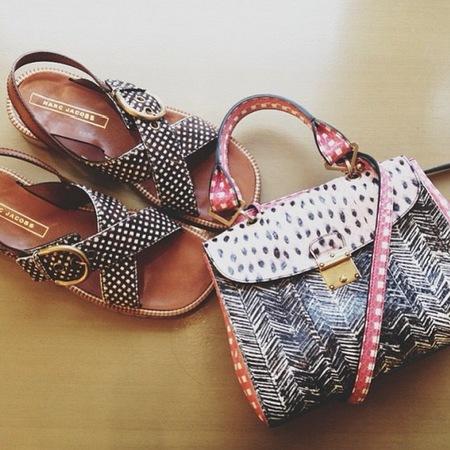 Marc Jacobs previews Resort 2014 handbag