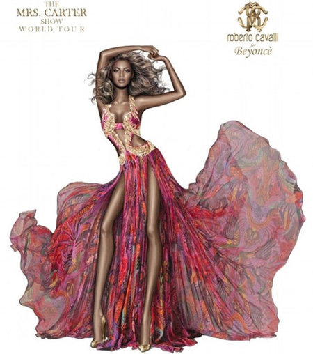 Beyoncé curves removed from new Roberto Cavalli photo