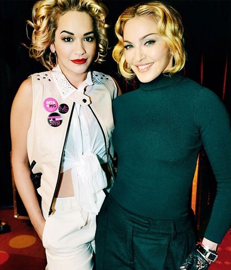 Rita Ora confirmed as face of Madonna's Material Girl collection