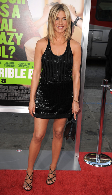 Jennifer Aniston in an LBD