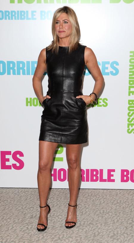 Jennifer Aniston in an LBD