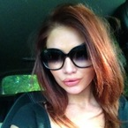 Amy Childs goes extension free to show off natural hair