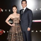 Amy Adams goes nude in Valentino at Man of Steel