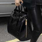 Jessie J carries Alexander McQueen Heroine bag