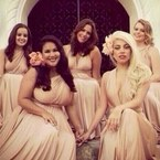 SHOP! Lady Gaga's £250 Two Birds bridesmaid dress