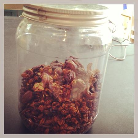 Fearne Cotton homemade granola from Honestly Healthy cookbook