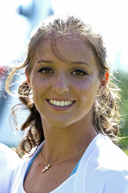Laura Robson tennis player, British female number one