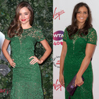 Fashion Fight: Miranda Kerr v Laura Robson in Burberry lace