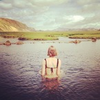 Celebrity postcards: Karlie Kloss in Iceland