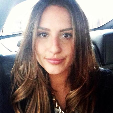 Lucy Watson tweets a photo of her new hair extensions
