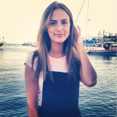 Lucy Watson shows off holiday hair from Turkey