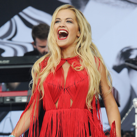 Rita Ora performs at Glastonbury 2013