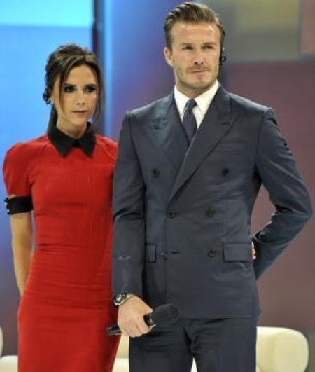 Victoria Beckham joins David Beckham on China trip