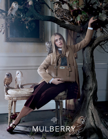 MULBERRY AW13 CAMPAIGN IMAGES