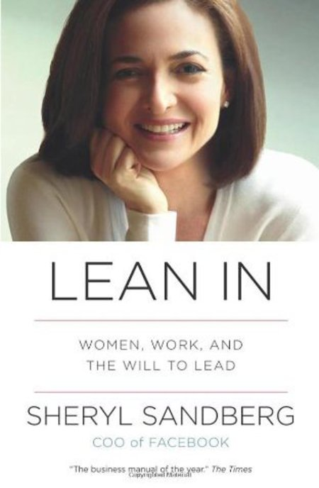 'Lean in' by Sheryl Sandberg