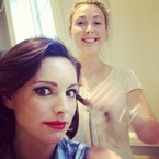 Kelly Brook tests femme fatale Taking Stock makeup