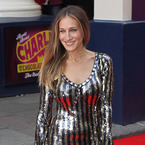 Sarah Jessica Parker glitters in Marc Jacobs for London musical