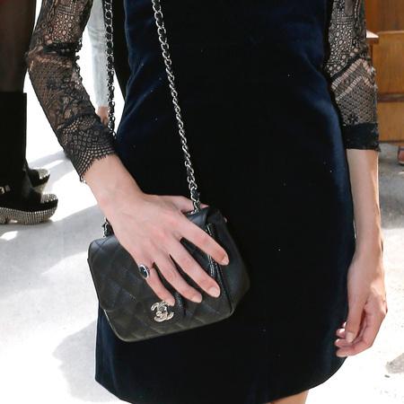 Alexa Chung's classic Chanel Flap Bag