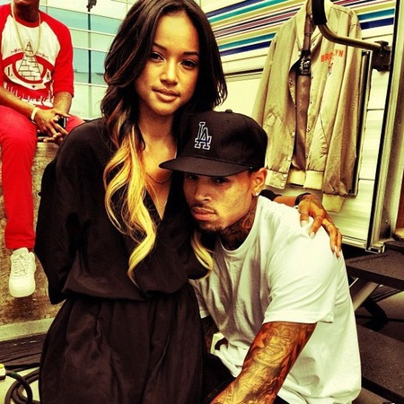 Karrueche Tran is back with Chris Brown