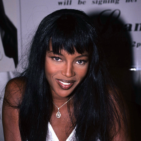 Naomi Campbell vintage snap from 1990s