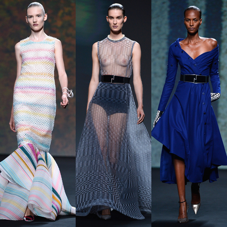Models at Dior PARIS HAUTE COUTURE AW13 show