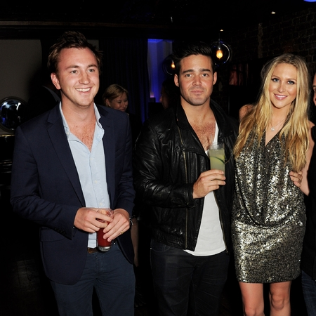 Spencer Matthews and Stephanie Pratt party with Made In Chelsea party