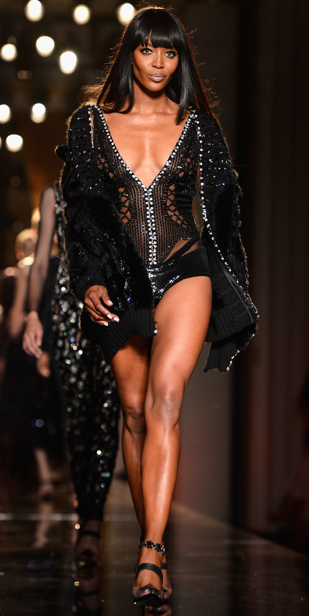 Paris Couture Fashion Week AW13, Naomi Campbell for Versace